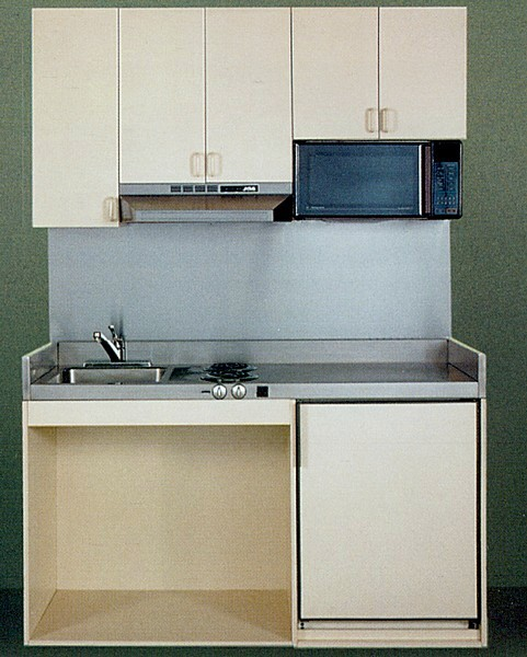 Assisted living kitchenettes for senior housing and ada for Acme kitchen cabinets